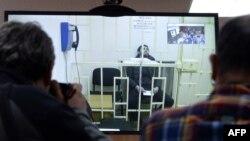 Заур Дадаев в зале суда 1 апреля