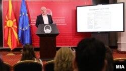 Прес конференција на генералниот секретар на Влада, Драги Рашковски