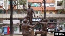 Скулптура во Скопје