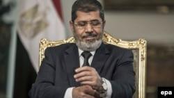 Соборениот египетски претседател Мухамед Морси