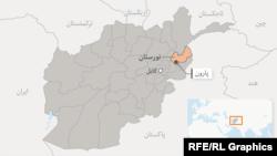 موقعیت ولایت نورستان در نقشه عمومی افغانستان