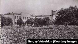 У больницы был свой огород