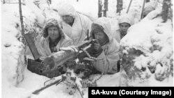 Финские пулеметчики во время советско-финской войны