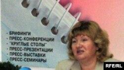 Беларусь ақпарат министрі Лилия Ананич.