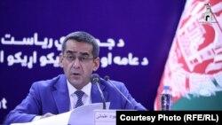 د عامې روغتیا وزیر محمد جواد عثماني