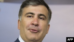 Georgian President Mikheil Saakashvili in Washington in May