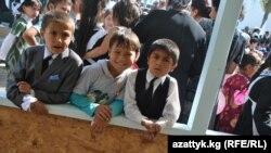 В одной из баткенских школ