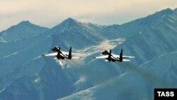 مقاتلتان روسيتان