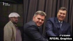 Чоловік у білому кашкеті – Едуард Ставицький, екс-міністр уряду за президентства Януковича