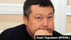 Журналист Рафаэль Балгин, арестованный по делу о публикации «заказных статей» о Казкоммерцбанке.