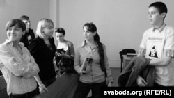 Павал Сяргей у судовай залі