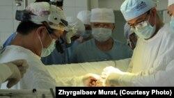 Орган транспланттау операциясы. (Көрнекі сурет)