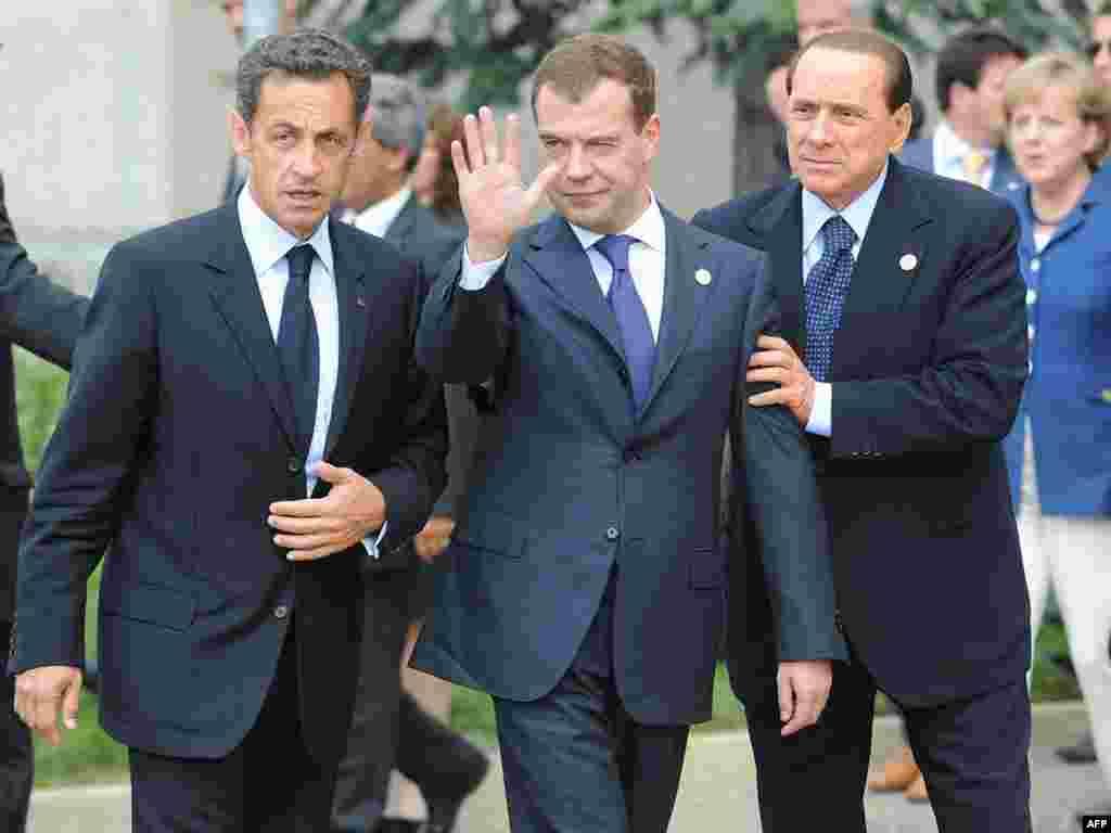 """Сегодня - второй день саммита """"большой восьмёрки"""" в Италии"""
