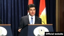 رئيس حكومة إقليم كردستان العراق نيجيرفان بارزاني