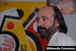 """""""Qızıl Ərik"""" festivalının yaradıcısı rejissor Haurtyun Khachatryan."""