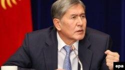Қирғизистон Президенти Алмазбек Атамбаев