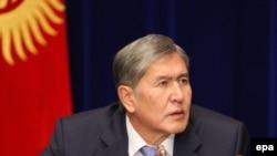 Almazbek Atambaev - Qırğızıstan prezidenti