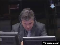 Jean Rene Ruez u sudnici, 2. februar 2012.