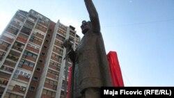 Monumenti i Car Lazarit në veri të Mitrovicës