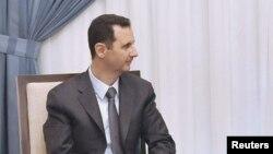Президент Сирии Башар Асад. Дамаск, 18 сентября 2013 года.