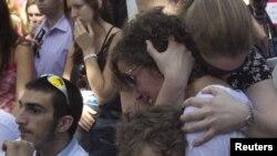 Так встретили израильтяне известие об освобождении Гилада Шалита. 18 октября 2011 года