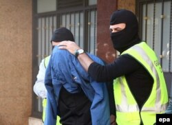 Задержание подозреваемого в терроризме. Барселона, весна 2016 года