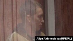 Сарыбөктер шекара заставасының бастығы Алексей Фомин. Талдықорған, 27 қараша 2012 жыл.