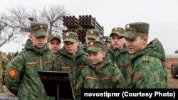 Exerciții militare comune ale armatei transnistrene și ale armatei ruse