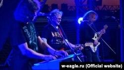 Музыканты группы «Белый орел»