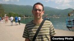 Macedonia - Macedonian composer Goce Gavrilovski.