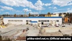Завод по производству тротуарной плитки «Крымжелезобетона», Симферополь