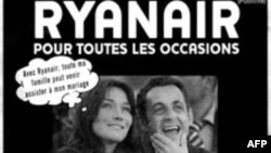 آگهی رایان ایر در روزنامه فرانسوی لوپاریزین.