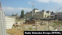 Местото каде треба да се изгради Панорамското тркало во Скопје.