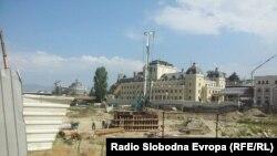 Почна изградбата на Панорамското тркало во Скопје.