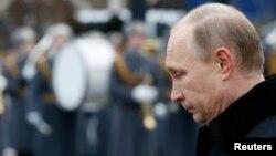 Президент Росії Володимир Путін. Москва, 23 лютого 2015 року