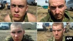 انتشار عکس های «سربازان اسیر روسی» توسط مقامات اوکراین