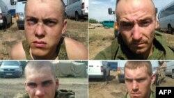 Російські десантники, затримані 25 серпня на Донбасі