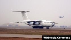 Pamje e një aeroplani rus