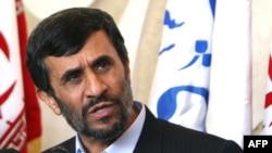 """""""No one can impose any sanctions on Iran any longer,"""" President Mahmud Ahmadinejad said."""