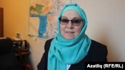 Tatar writer and activist Fauzia Bairamova (file photo)
