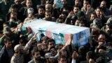 تشييع القائد بالحرس الثوري الإيراني الجنرال تقوي - طهران 29 كانون الأول 2014