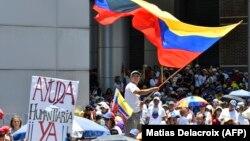Venesuala müxalifəti etiraz aksiyası keçirir, 6 aprel, 2019