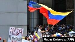 Протесты в Венесуэле, Каракас, апрель 2019 года