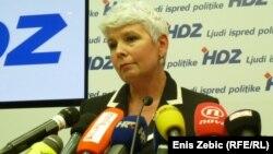 Хрватската премиерка Јадранка Косор.