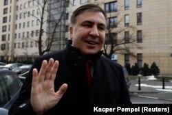 Михаил Саакашвили в Польше в феврале 2018 года