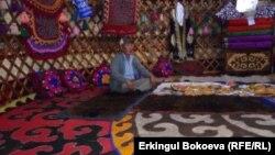 Кыргызская юрта.