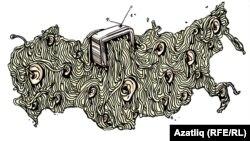 Caricatură de Guzel Garipova.