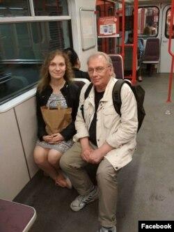 Татьяна Соломадина с отцом