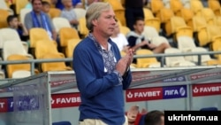 Головний тренер «Динамо» Олексій Михайличенко