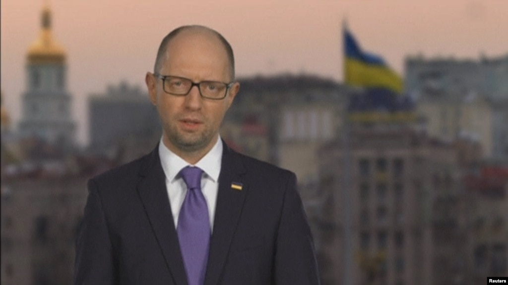 В РФ позлорадствовали всвязи сотставкой Яценюка